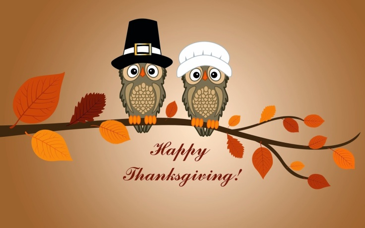 Funny Thanksgiving Day Wishes Wallpaper